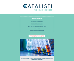 Catalisti Newsletter February 2020
