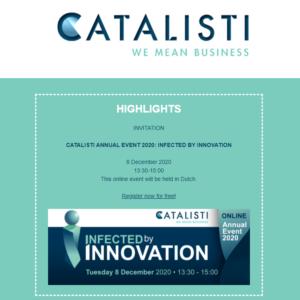 Catalisti Newsletter November 2020